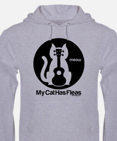 My Cat Has Fleas Ukulele Jumper Hoody