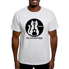 My Cat Has Fleas Ukulele T-Shirt