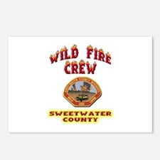 Sweetwater Wild Fire Crew Postcards (Package of 8)