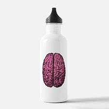 Human Anatomy Brain Water Bottle