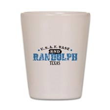 Randolph Air Force Base Shot Glass
