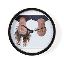 Cute Upside down Wall Clock