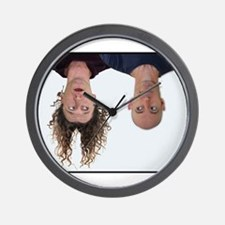 Unique Upside down Wall Clock