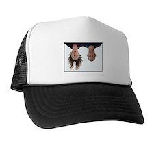 Funny Upside down Trucker Hat