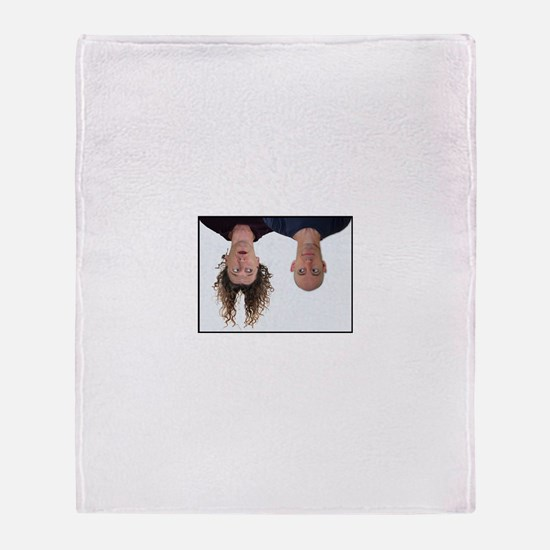 Cute Upside down Throw Blanket