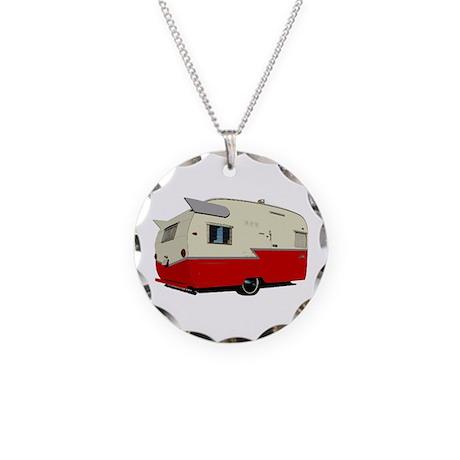 Vintage Shasta Necklace Circle Charm
