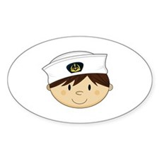 Little Navy Sailor Decal