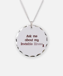 Invisible Illness - APS Necklace