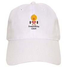 Powerlifting Chick Baseball Cap