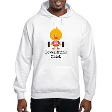 Powerlifting Chick Hoodie Sweatshirt