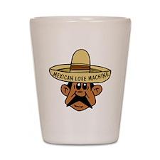 Mexican Love Machine Shot Glass