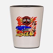 Muscle Car Shot Glass
