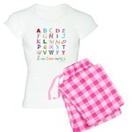 TEACH THE ABC's Women's Light Pajamas