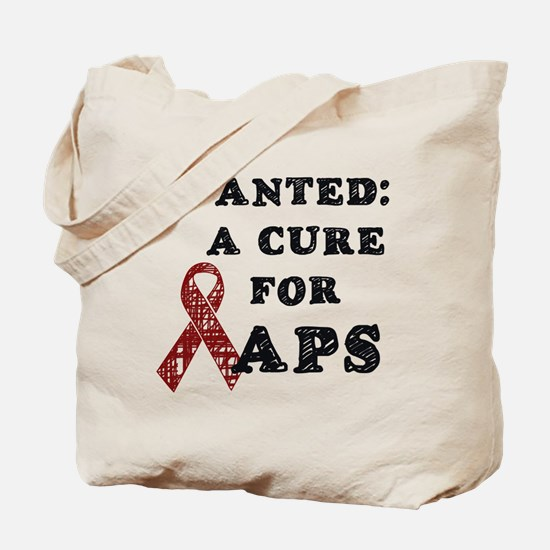 Wanted: A Cure for APS Tote Bag