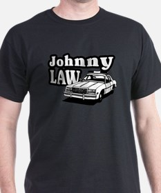 Johnny Law Black T-Shirt