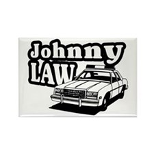 Johnny Law Rectangle Magnet