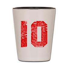 10th Birthday Shot Glass