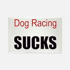 Dog Racing! Rectangle Magnet