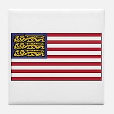 English American Tile Coaster