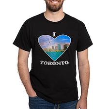 I heart Toronto Black T-Shirt