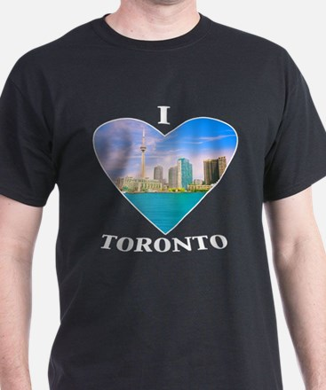 I heart Toronto Black T-Shirt