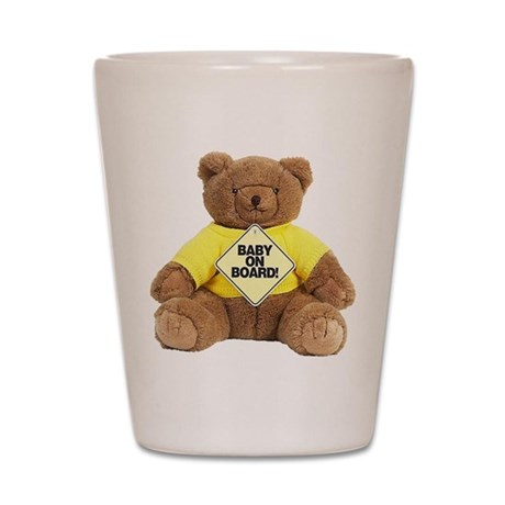 Baby On Board Shot Glass