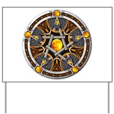 Pentacle of the Yellow Moon Yard Sign