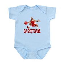 Basketball Dribble Infant Bodysuit