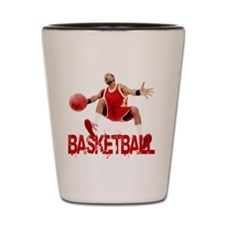 Basketball Dribble Shot Glass