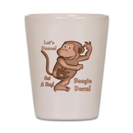 Dancing Monkey Shot Glass