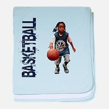 Youth Basketball baby blanket