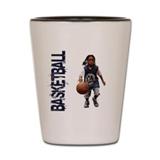 Youth Basketball Shot Glass