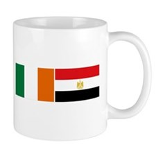 Irish Egyptian flags Mug