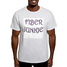 Fiber Junkie Ash Grey T-Shirt