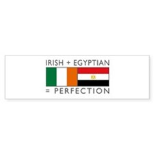 Irish Egyptian flags Bumper Sticker