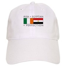 Irish Egyptian flags Baseball Cap
