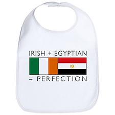 Irish Egyptian flags Bib