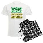 Spring Break Drink Up Bitches Men's Light Pajamas