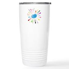 blue jellybean blowout Travel Coffee Mug