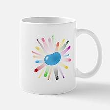 blue jellybean blowout Mug