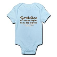 I Speak Old English Infant Bodysuit