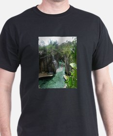 Underground Rivers Black T-Shirt