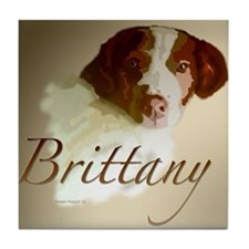 Brittany Colored Tile Coaster
