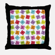Periodic Elements Throw Pillow