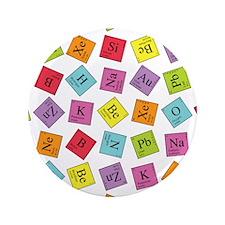 "Periodic Elements 3.5"" Button"