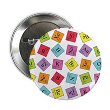 "Periodic Elements 2.25"" Button (10 pack)"