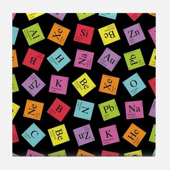 Periodic Elements Tile Coaster