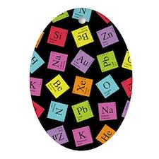 Periodic Elements Ornament (Oval)
