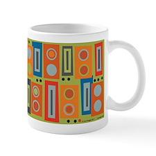 Orange Brick Mug