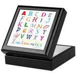 TEACH THE ABC's Keepsake Box